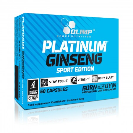 OLIMP PLATINUM GINSENG™ SPORT EDITION 60 kaps.