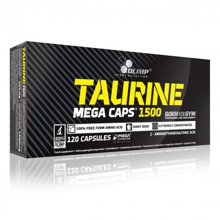 OLIMP TAURINE 1500 MEGA CAPS® 120 kaps.
