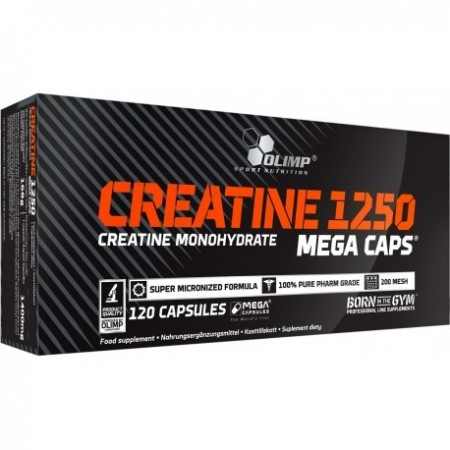 CREATINE 1250 MEGA CAPS® 120 kaps.
