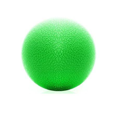 SPRINGOS Piłeczka do masażu lacrosse - zielona