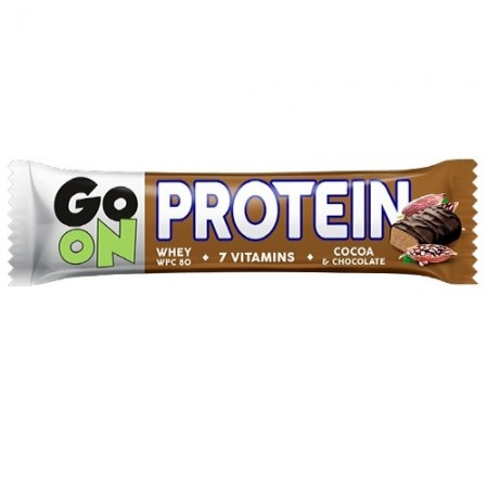 GO ON NUTRITION BATON PROTEINOWY 20% 50g - KAKAOWY
