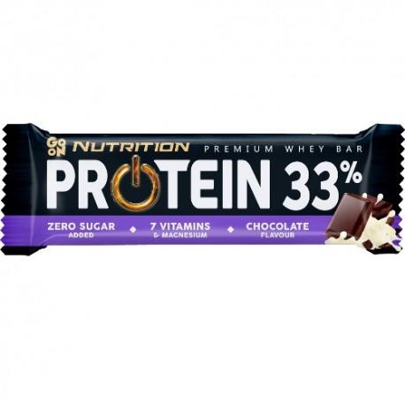 GO ON NUTRITION BATON PROTEINOWY 33% - CZEKOLADA
