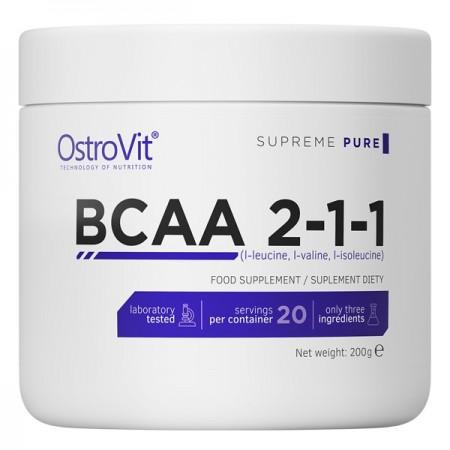 OstroVit 100% BCAA 2-1-1 200g PURE