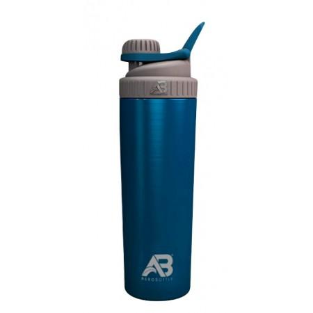 Metalowy Shaker AeroClub - niebieski 800ml