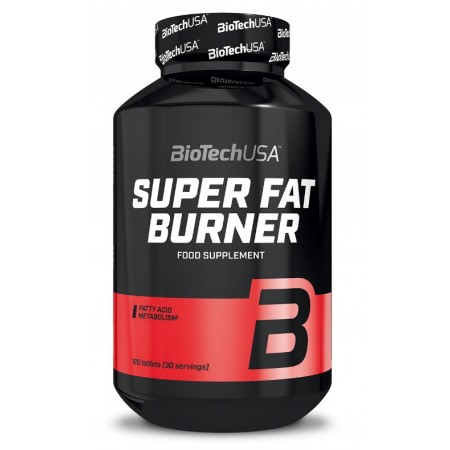 BioTech USA SUPER FAT BURNER 120 tabs.
