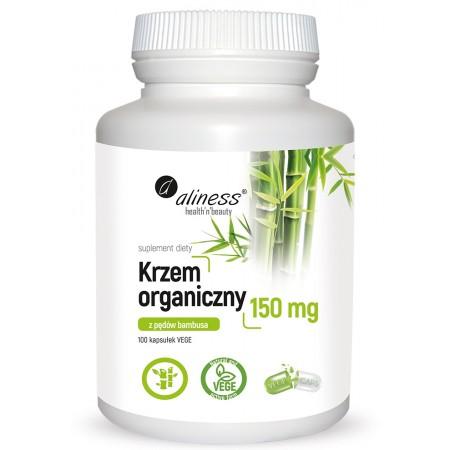 Aliness Krzem organiczny 150 mg x 100 VEGE caps.