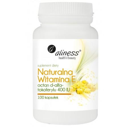 Aliness Naturalna Witamina E 100 caps.
