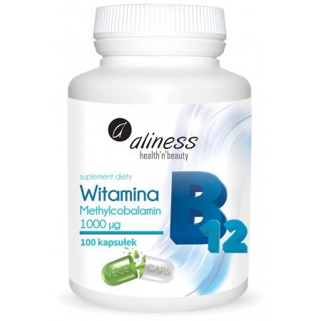 Aliness Witamina B12 Methylcobalamin 1000µg x 100 kaps.