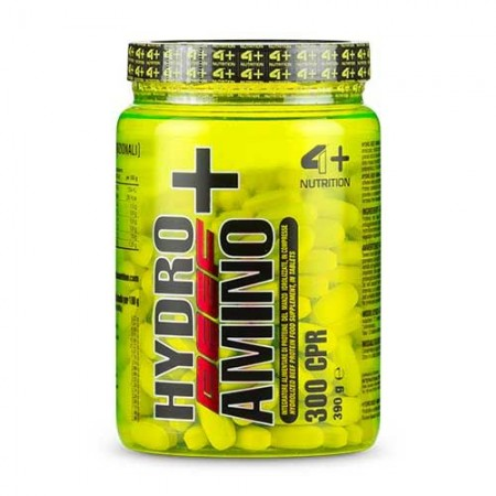 4+ NUTRITION Hydro Amino Beef+ 300 tabs.