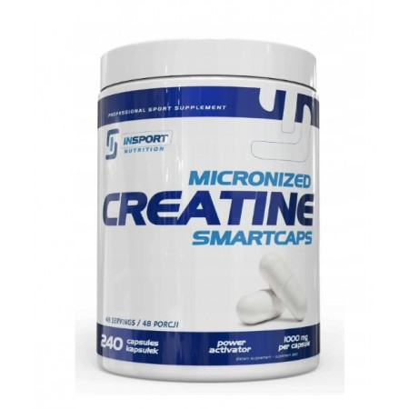Insport Nutrition MICRONIZED CREATINE SMARTCAPS 240 caps.