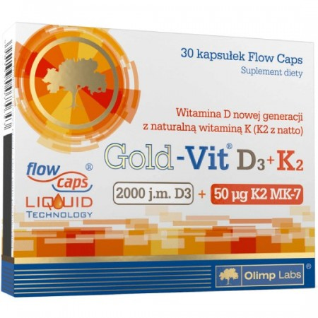 OLIMP Gold-Vit® D3+K2