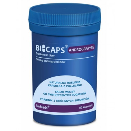 ForMeds BICAPS ANDROGRAPHIS 60 caps.