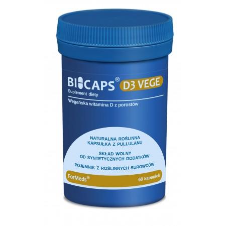 ForMeds BICAPS D3 VEGE 60 caps.