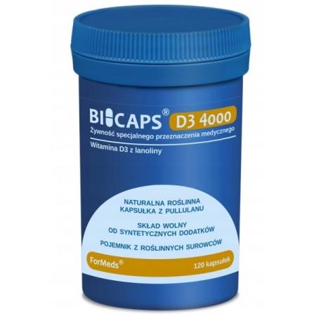 ForMeds BICAPS D3 4000 120 caps.