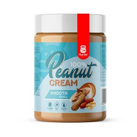 Cheat Meal Nutrition Peanut Cream 1000g SMOOTH