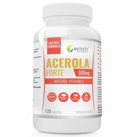 WISH ACEROLA FORTE 500mg 120 tabletek