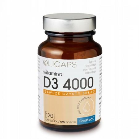 ForMeds OLICAPS D3 4000 120 caps.