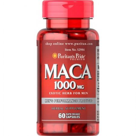Puritan's Pride MACA EXTRACT 1000mg 60 caps.