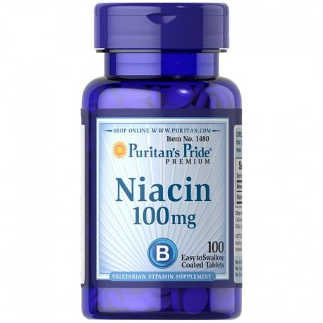 Puritan's Pride NIACYNA 100mg 100 tabs.