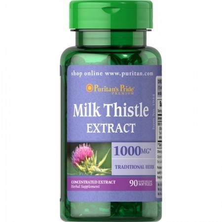 Puritan's Pride Ostropest Plamisty Ekstrakt 1000 mg 90 caps.