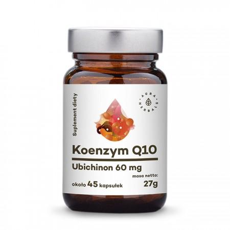 Aura Herbals Koenzym Q10 - Ubichinon 60mg 45 kapsułek