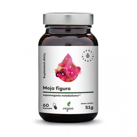 Aura Herbals Moja Figura - Wspomaganie Metabolizmu - 60 kapsułek wegańskich