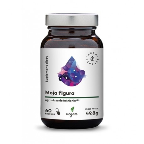 Aura Herbals Moja Figura - Ograniczenie Łaknienia - 60 kapsułek wegańskich