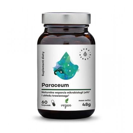 Aura Herbals Paraceum - naturalne wsparcie jelit i trawienia - 60 kapsułek wegańskich