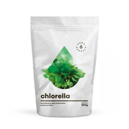 Aura Herbals Chlorella - proszek 200g