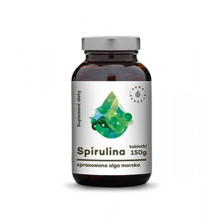 Aura Herbals Spirulina - 600 tabletek