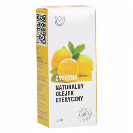 Naturalny olejek eteryczny 12ml - cytryna