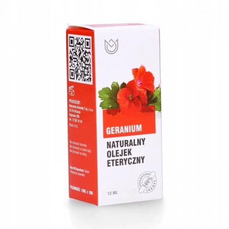 Naturalny olejek eteryczny 12ml - GERANIUM