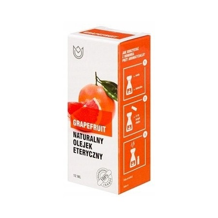 Naturalny olejek eteryczny 12ml - GRAPEFRUIT