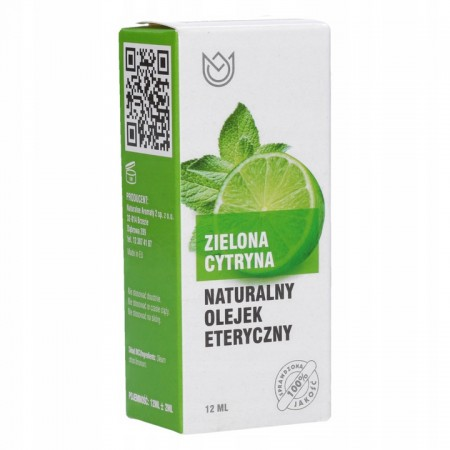 Naturalny olejek eteryczny 12ml - ZIELONA CYTRYNA