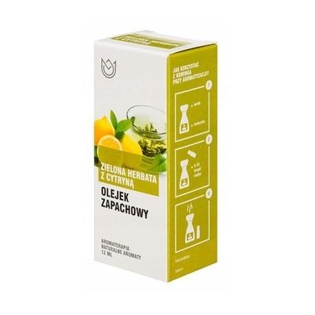 Olejek zapachowy 12ml - ZIELONA CYTRYNA Z CYTRYNĄ