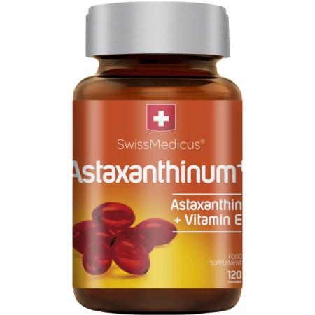 SwissMedicus Astaxanthinum + Witamina E 120 caps.