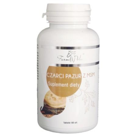 FARM-VIX CZARCI PAZUR Z MSM 60 tabletek