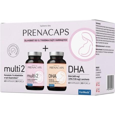 FORMEDS PRENACAPS MULTI 2 + DHA