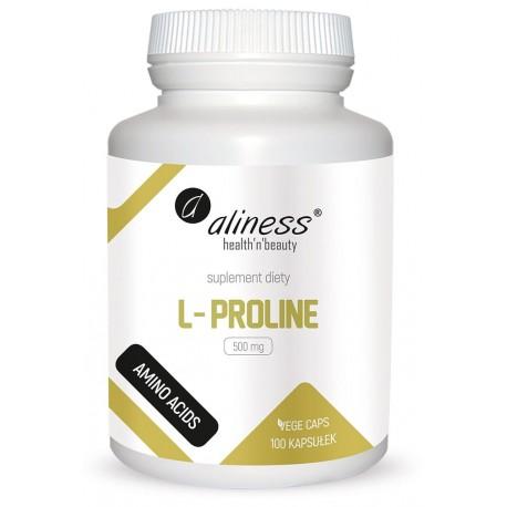 Aliness L-Proline 500 mg x 100 Vege caps.
