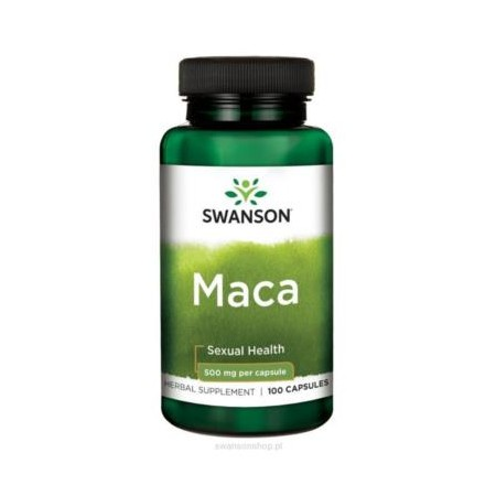 SWANSON MACA 500mg 100 caps.
