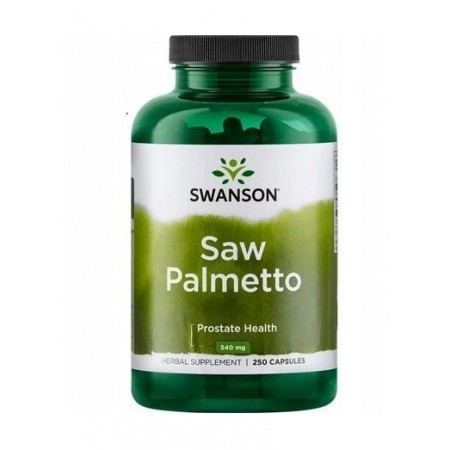 SWANSON SAW PALMETTO 540mg 250 caps.