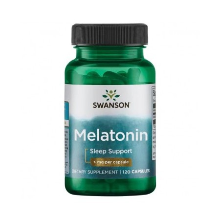 SWANSON MELATONINA 1mg 120 caps.