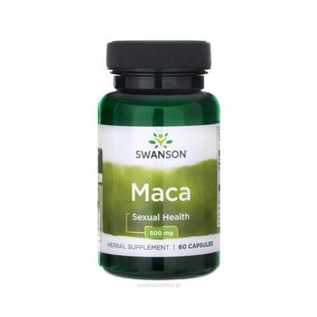 SWANSON MACA EXTRACT 500mg 60 caps.