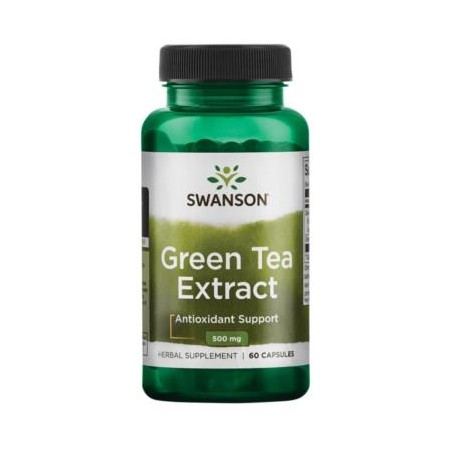 SWANSON GREEN TEA EXTRACT 500mg 60 caps.