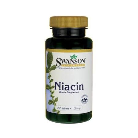 SWANSON NIACIN 100mg 250 tabs.