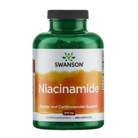 SWANSON NIACINAMIDE 500mg 250 caps.