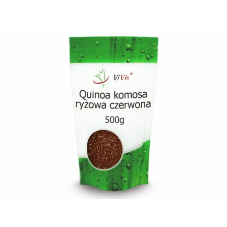 VIVIO Quinoa Komosa Ryżowa Czerwona 500g