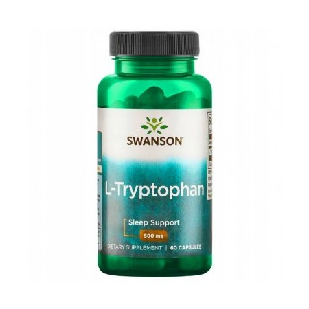 SWANSON L-TRYPTOPHAN 500mg 60 caps.