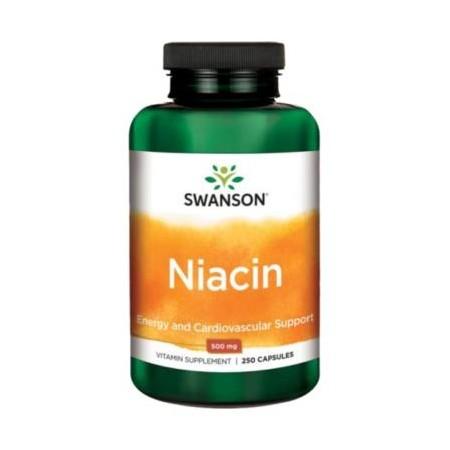 SWANSON NIACIN 500mg 250 caps.