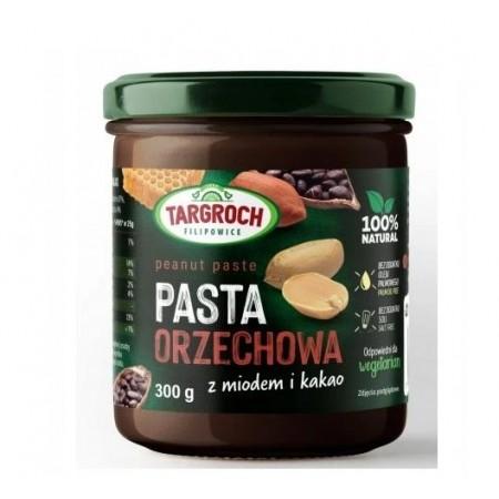 TARGROCH Pasta orzechowa z miodem i kakao 300g